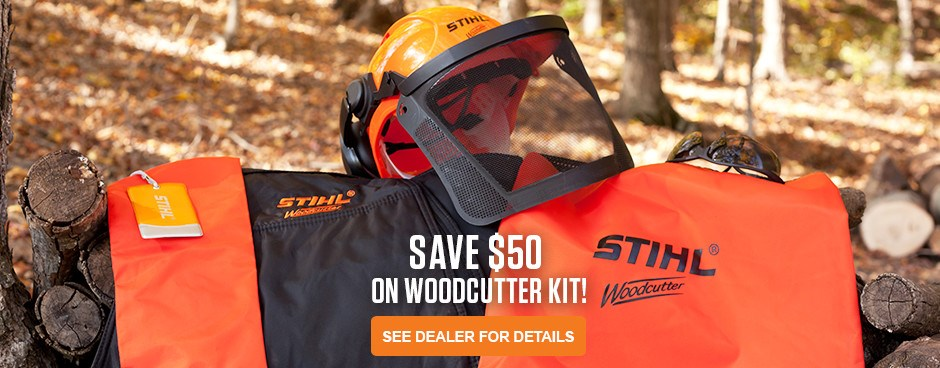 SAVE $50 on Woodcutter Kit!